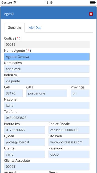 Screenshot of Gestionale JogPlus3