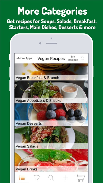 Vegan Recipes - Eat vegan food, Vegan meal diet screenshot-1