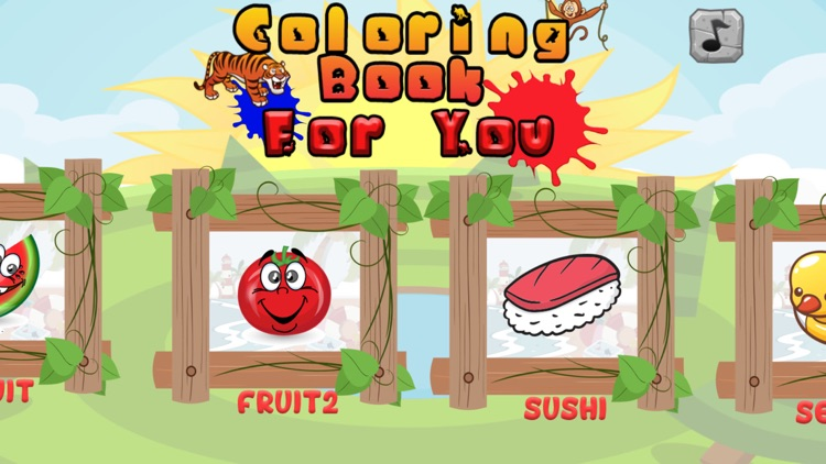Coloring Book For You & Me