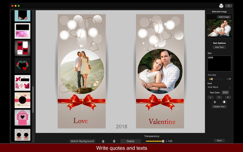 Birthday Cards Maker - Collage screenshot 2