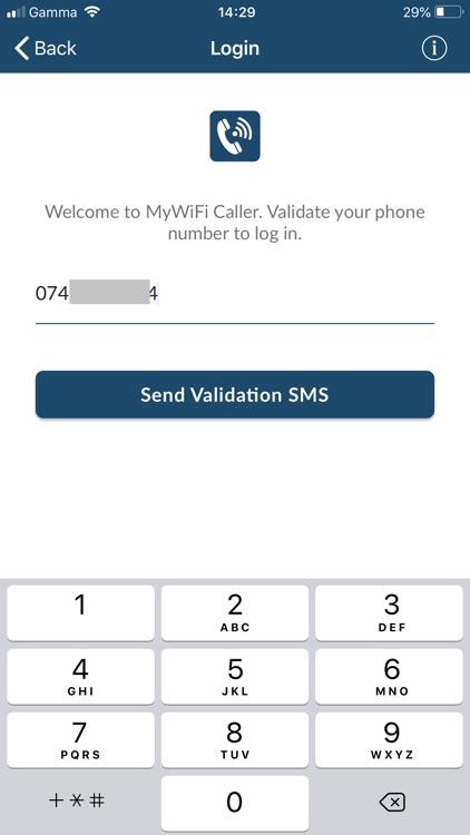 MyWiFi Caller