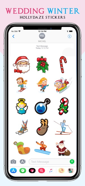 Wedding party sticker on the app store junglespirit Images