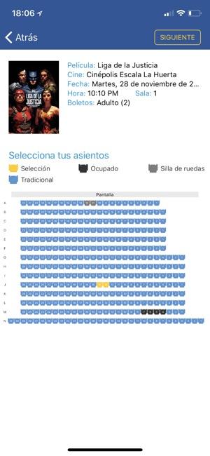 Cin polis en app store for Cine capitol precio entrada