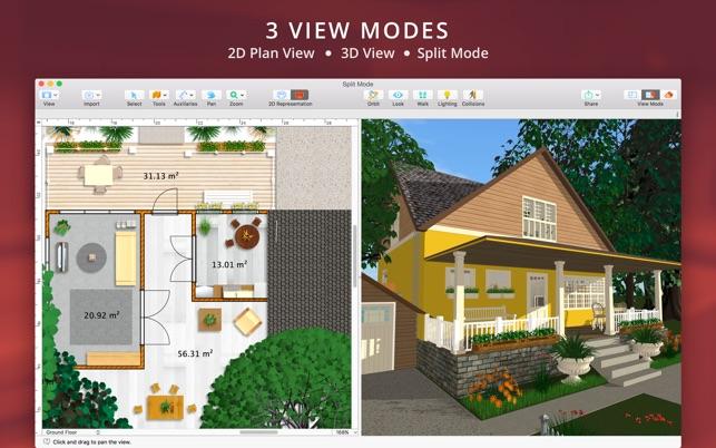 Live Home 3d Interior Design On The Mac App Store