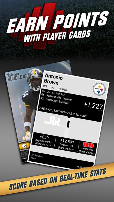 NFL HUDDLE: Card Trader Screenshot