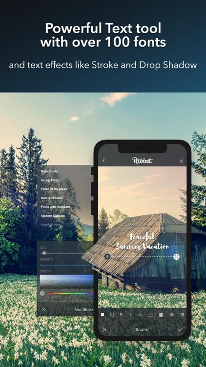 Ribbet™ Photo Editing Suite