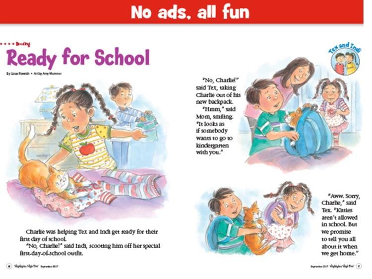 Highlights High Five Magazine: Preschool Reading