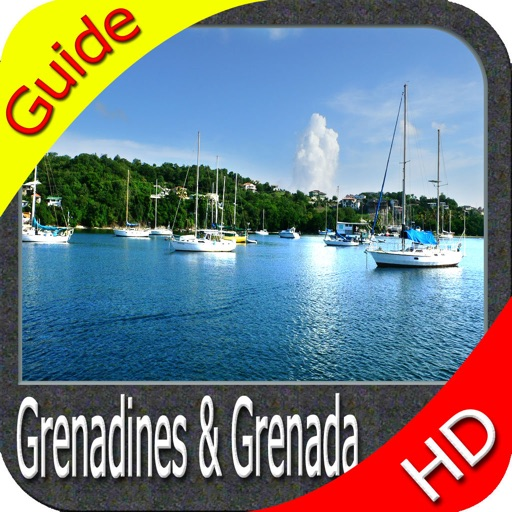 Grenadines & Grenada HD charts