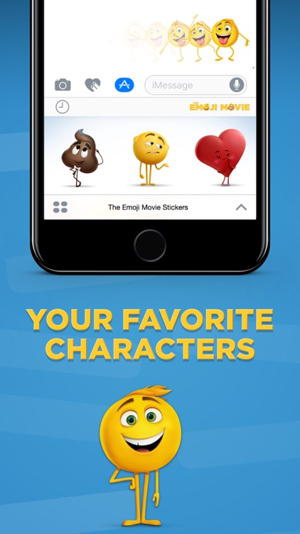 The Emoji Movie Stickers screenshot-2