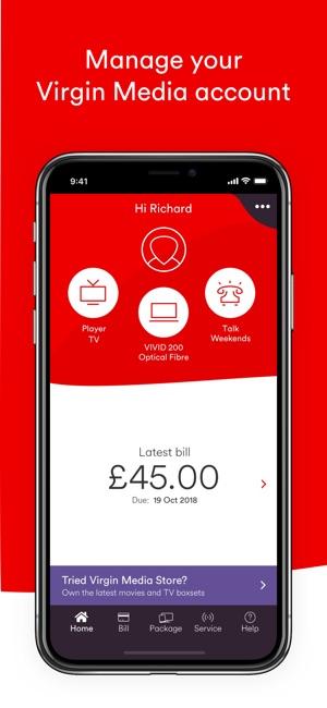 What Virgin media phone bills