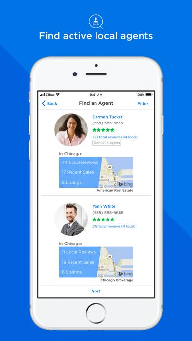 Screenshot 4 for Zillow's iPhone app'