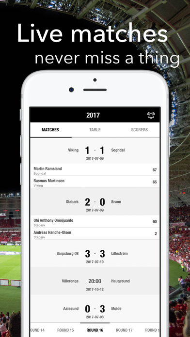 点击获取Football - Eliteserien Norway