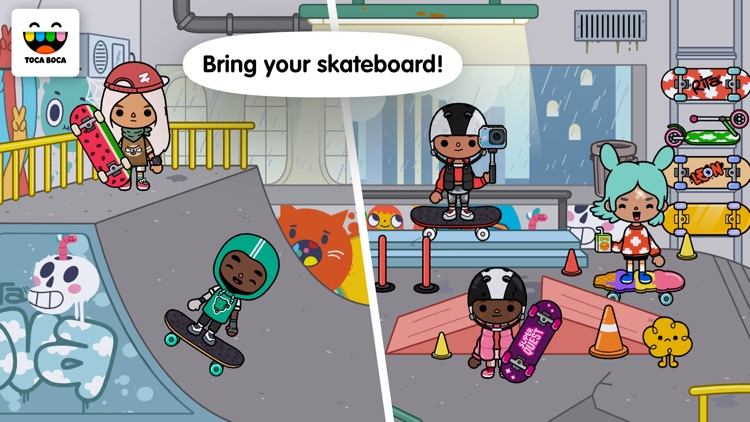 Toca Life: After School screenshot-1