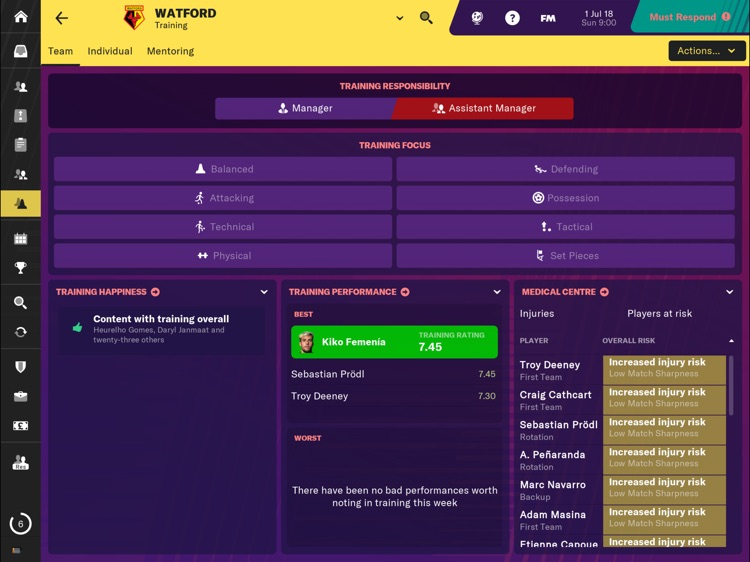 Football Manager 2019 Touch screenshot-5