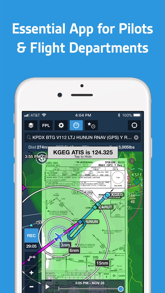 ForeFlight Mobile EFB Screenshot