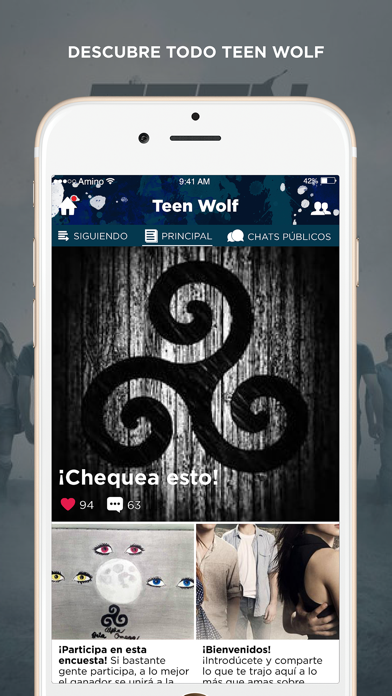 Wolfies Amino para Teen Wolf-0