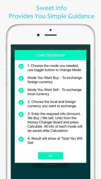 Money Changer Calculator Screenshot 3