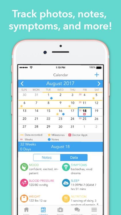 Ovia Pregnancy Tracker