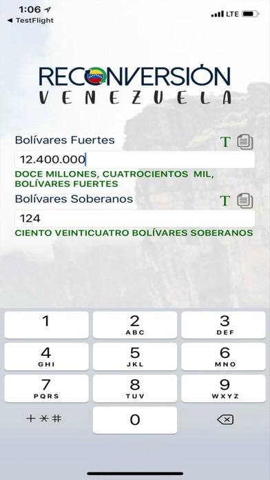 Reconversión Venezuela screenshot one