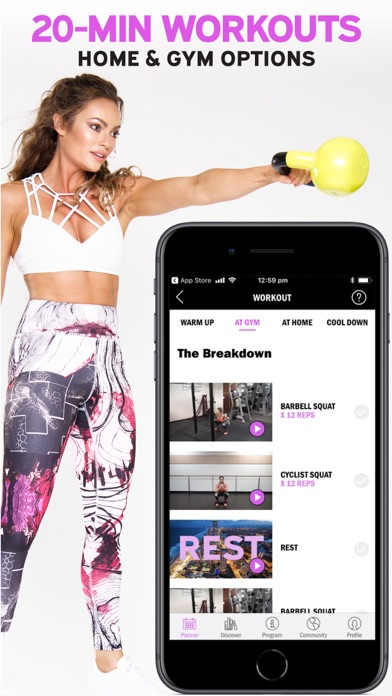 Emily Skye FIT: Workout App