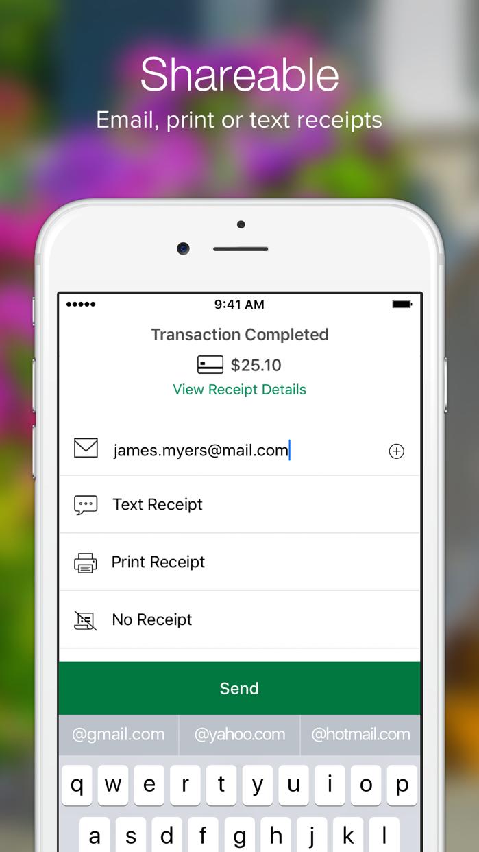 CloverGo-BofA MerchantServices Screenshot