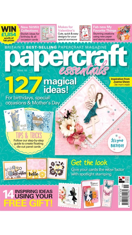 PAPERCRAFT ESSENTIALS – Packed with fun cards you can make in an evening