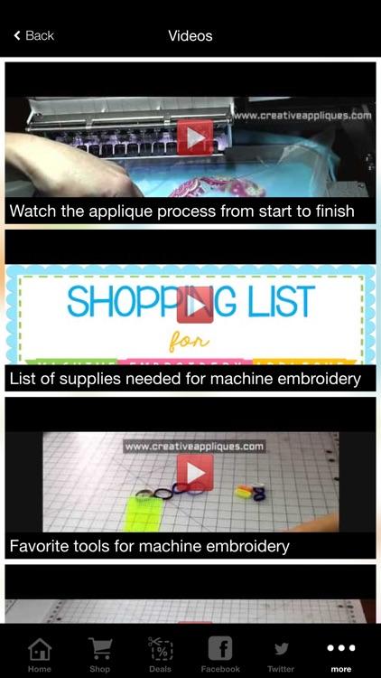 Creative Appliques screenshot-3