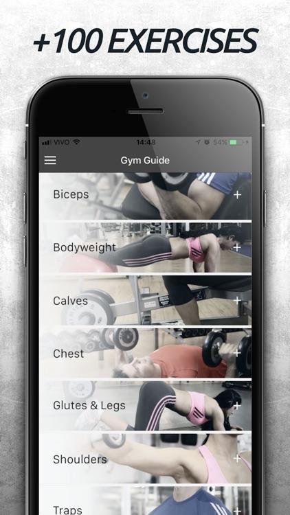 Gym Guide - Workout Tutorial screenshot-0