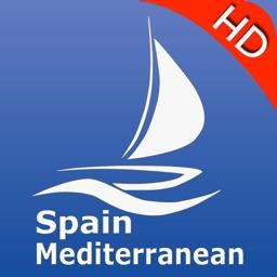 Spain Mediterranean Charts Pro