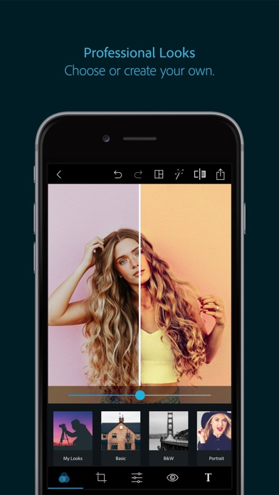 Adobe Photoshop Express Screenshot 1