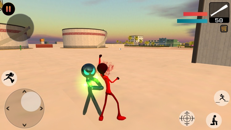 Stickman Gangster City Crime screenshot-3