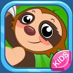 儿童动物园游戏:启蒙英语字母识图爱拼图大全