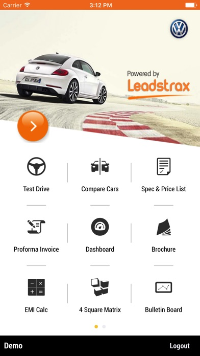 Leadstrax Screenshot