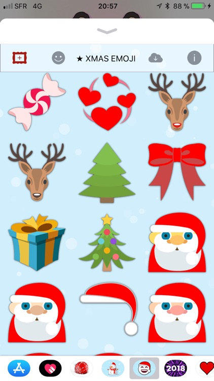 Christmas Emoji • Stickers screenshot-3