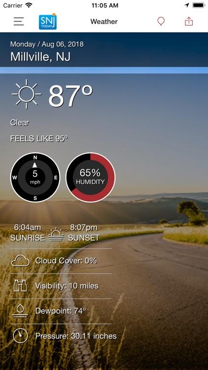 SNJ Today – Weather