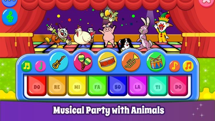 Kids Piano Games & Baby Sounds screenshot-3