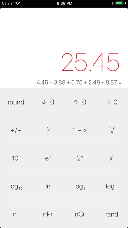 Myriad Calculator screenshot-3