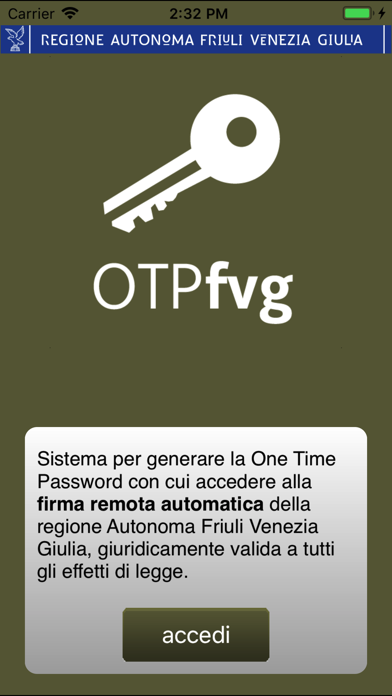 OTPfvg by Aruba S p A  (iOS, United States) - SearchMan App Data