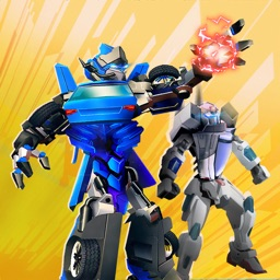 Car Robot Wars: City Hero