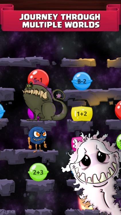Monster Math. Kids Fun Games