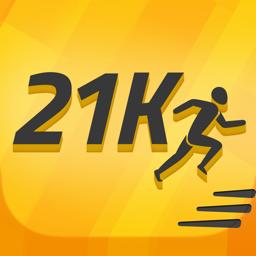 Ícone do app Half Marathon Trainer: 21K Run