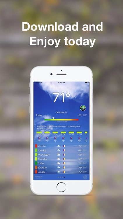 WeatherAI - Personal Forecast screenshot-4