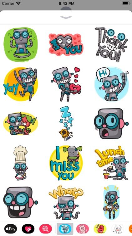 Wali the Weirdo Robot Emotes