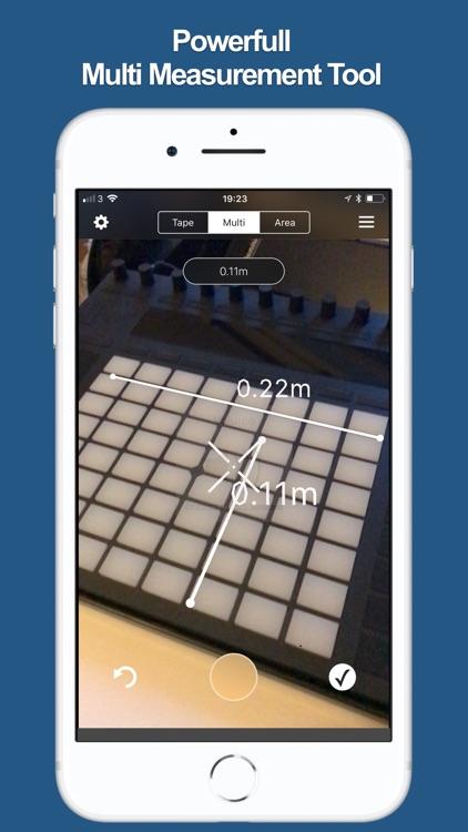 ARea - AR Measure Tape screenshot-3