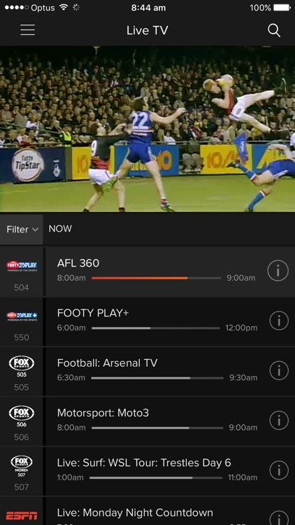 Foxtel screenshot-4
