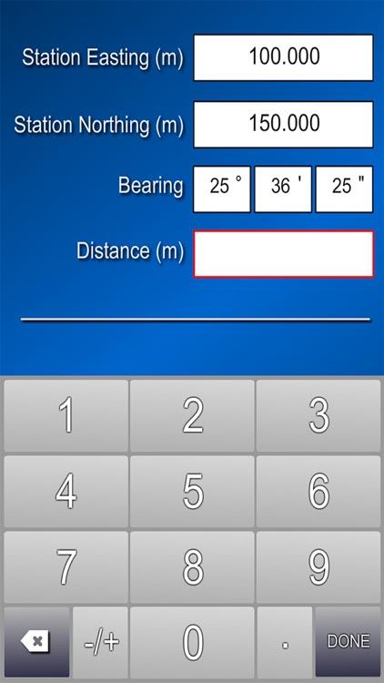 Coordinate calculator