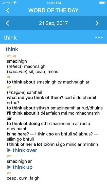 Collins Irish Dictionary