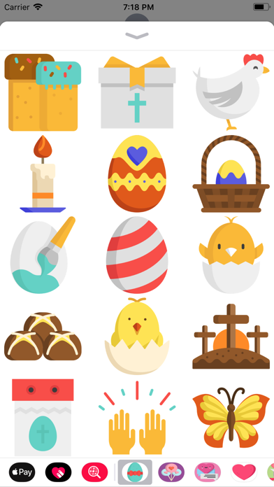 Easter Holiday Sticker Pack screenshot one