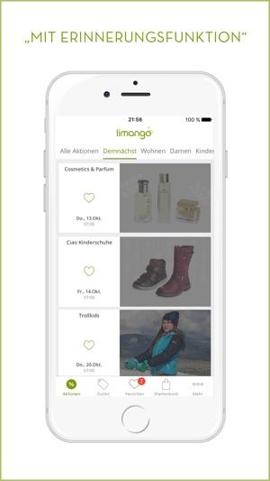 limango Familien Shop im App Store