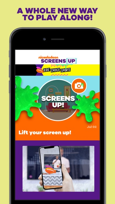 SCREENS UP by Nickelodeon screenshot 1